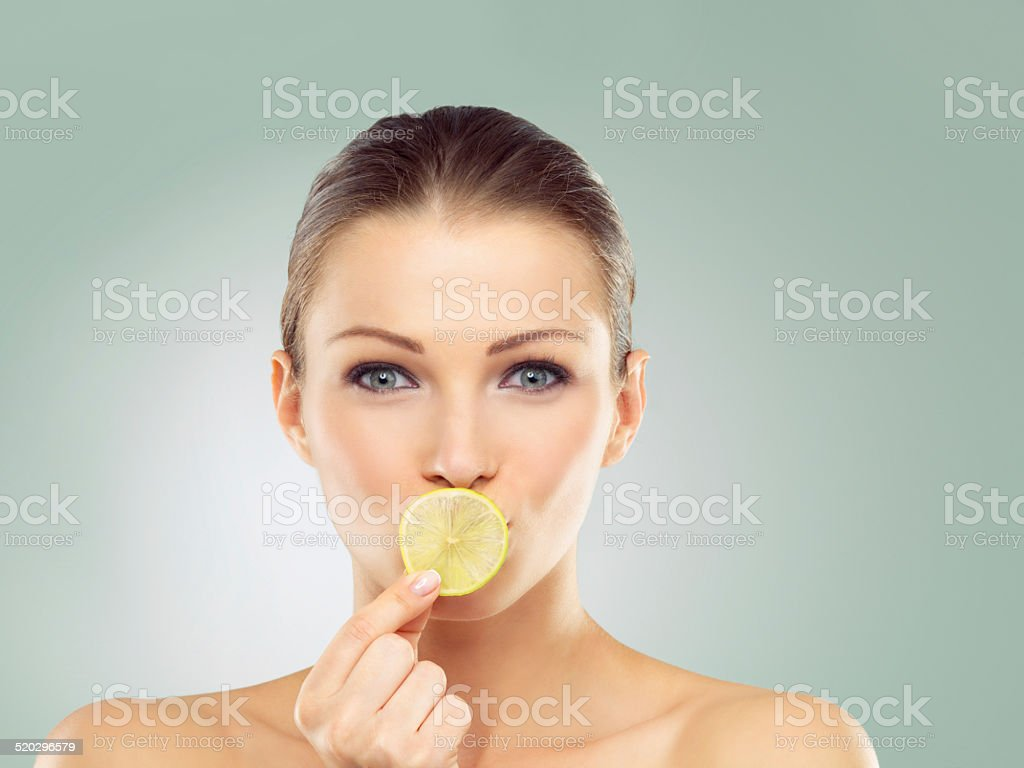 When life gives you lemons... stock photo
