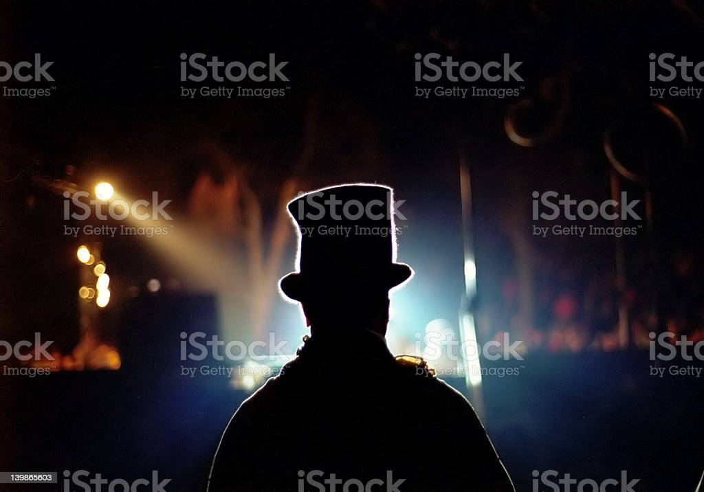 When lights go down royalty-free stock photo