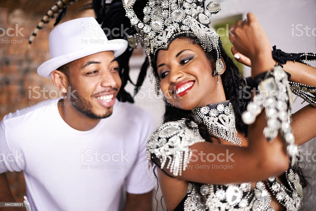 When music and dance meets stock photo