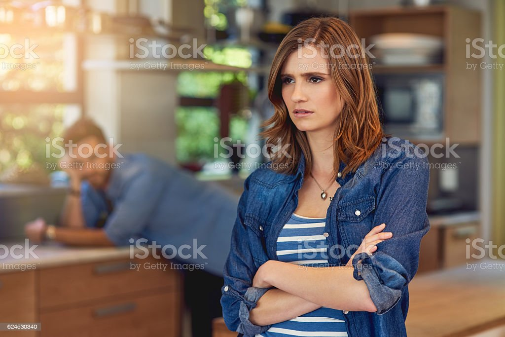 When poor communication causes conflict stock photo