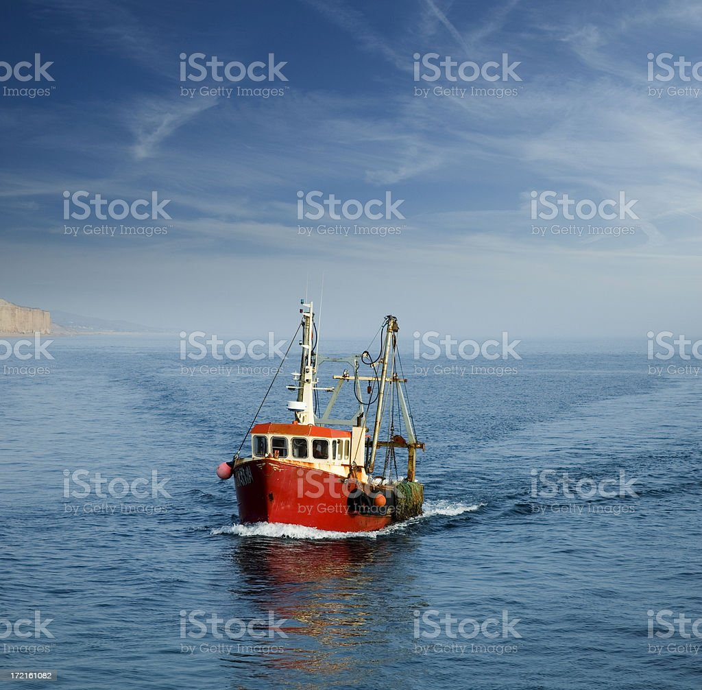 When the Boat Comes In stock photo