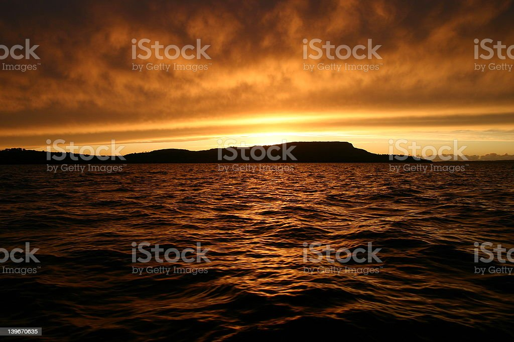 When the sun goes down... royalty-free stock photo