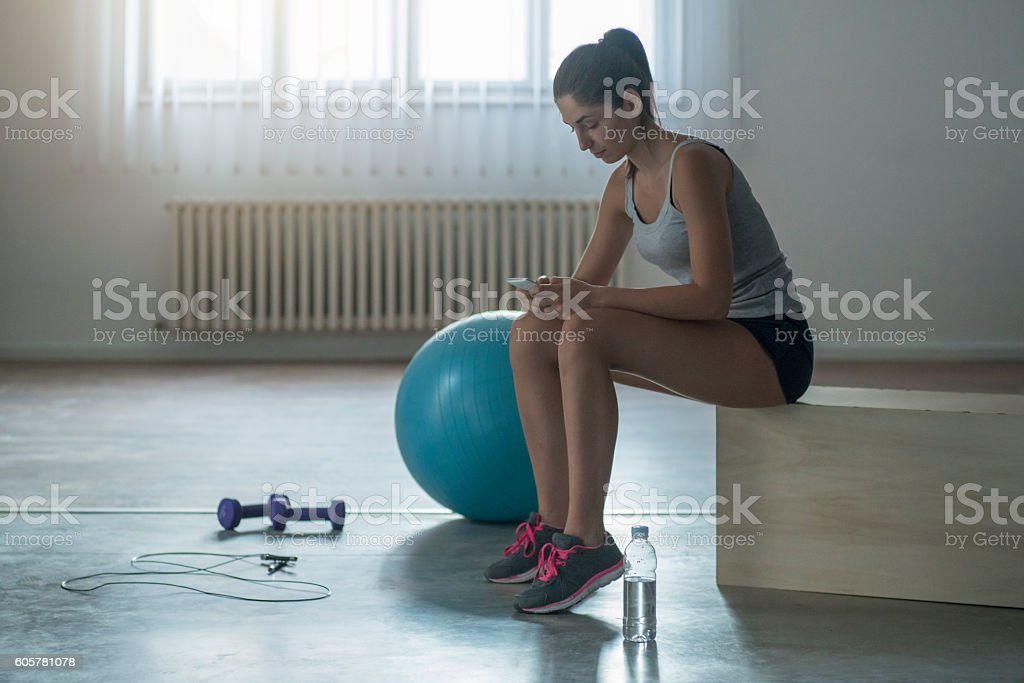 When training is over stock photo