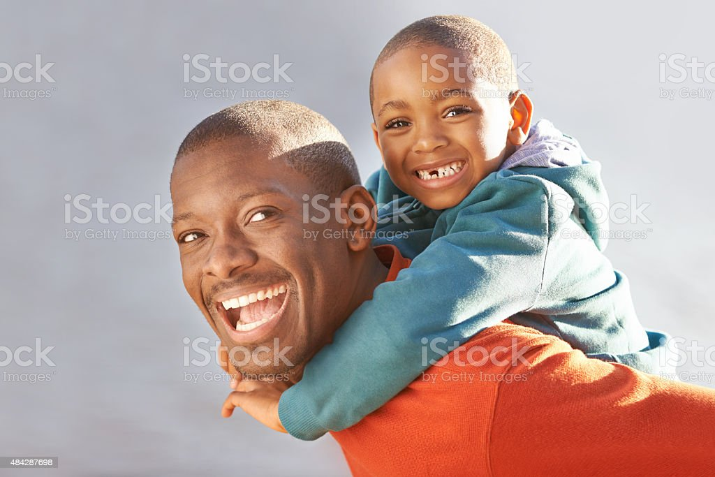 When your children are happy what more could you want? stock photo