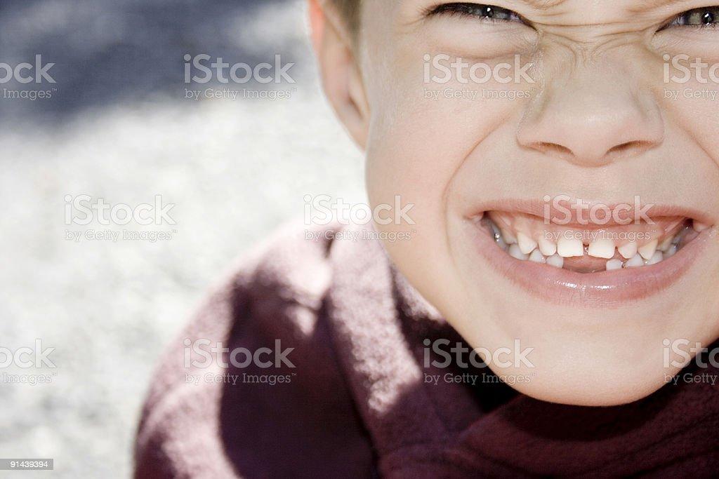 where are my teeth stock photo