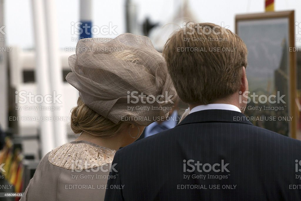 Where are they looking at stock photo