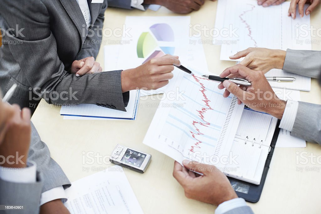 Where can we maximise our efforts? royalty-free stock photo