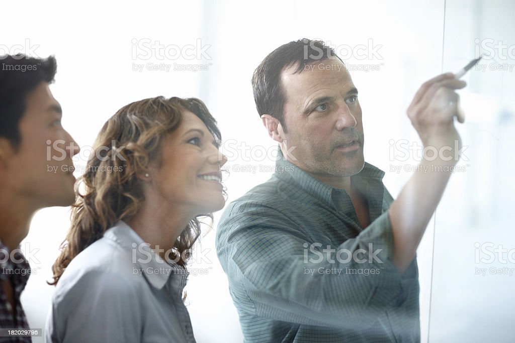 Where creative minds meet stock photo