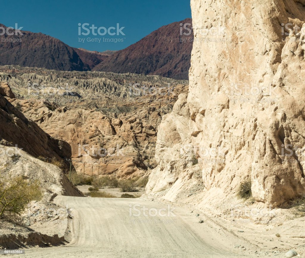 Where does the road go? stock photo