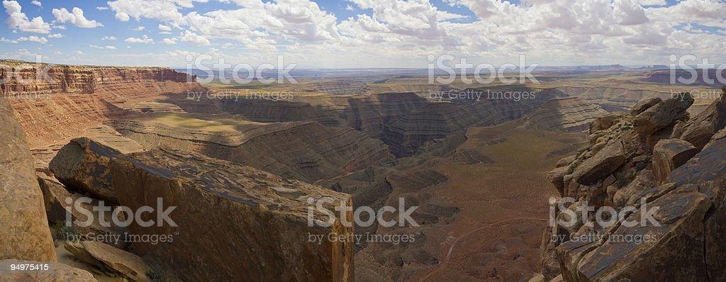 Where earth meets sky royalty-free stock photo