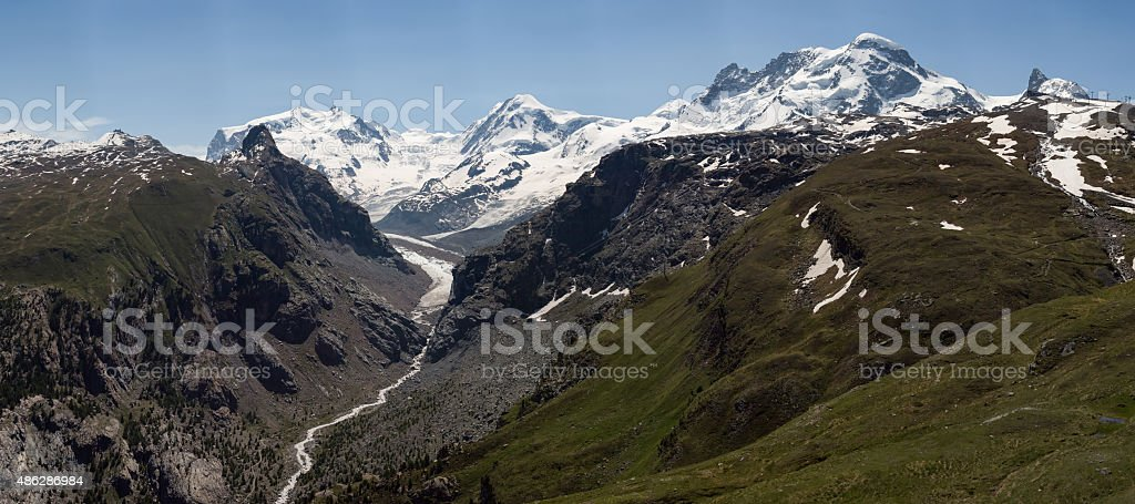 Where have all the glaciers gone? stock photo
