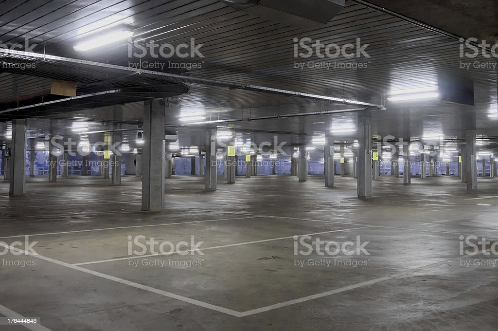 where have all the people gone on this holy day stock photo
