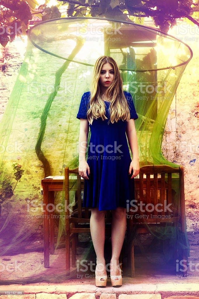 Where is Alice? stock photo