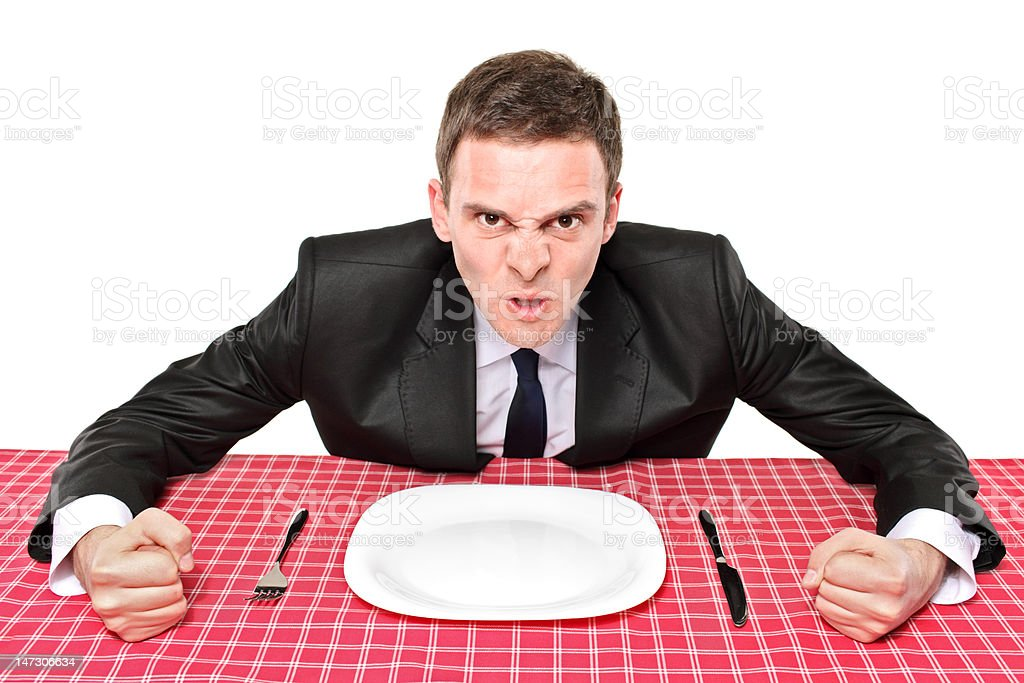 Where is my food? royalty-free stock photo