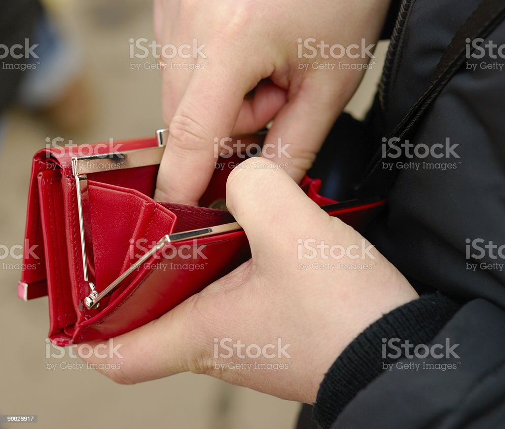 Where is my salary? royalty-free stock photo