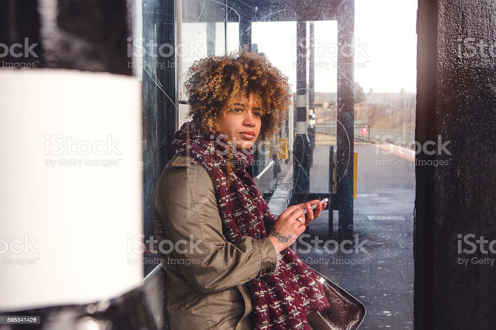 Where is the train? stock photo