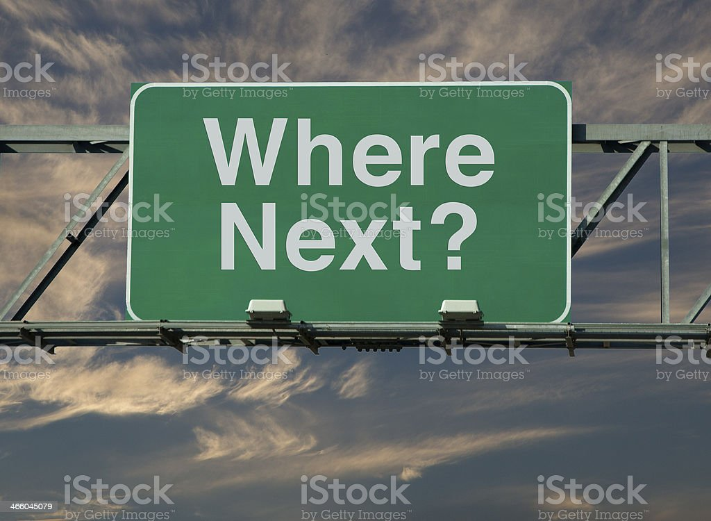 Where Next? royalty-free stock photo