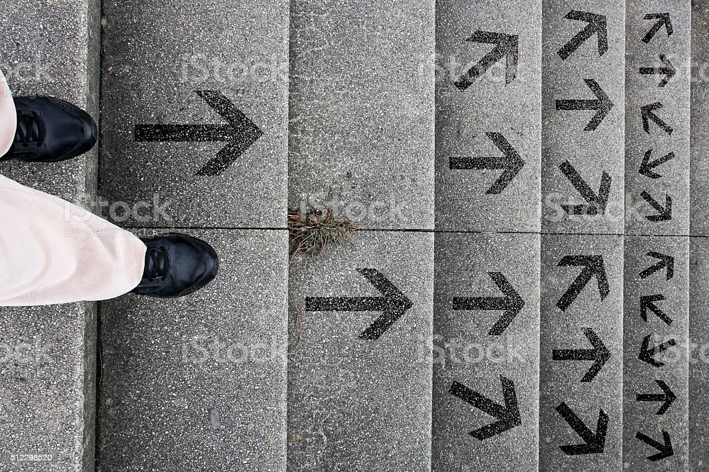 Where shall we go stock photo