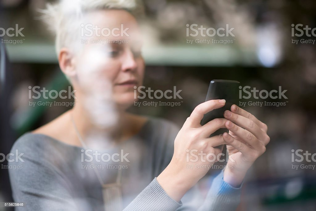 Where should I meet you? stock photo