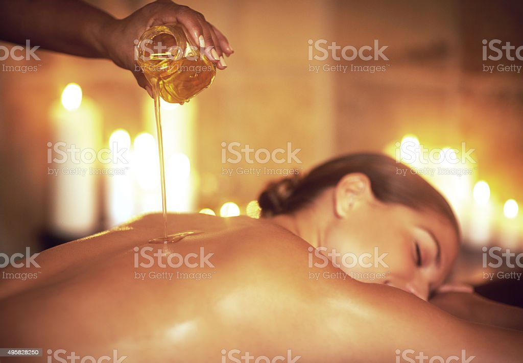 Where stress ends and relaxation begins... stock photo