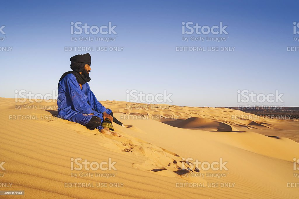 Where the Tuareg live royalty-free stock photo