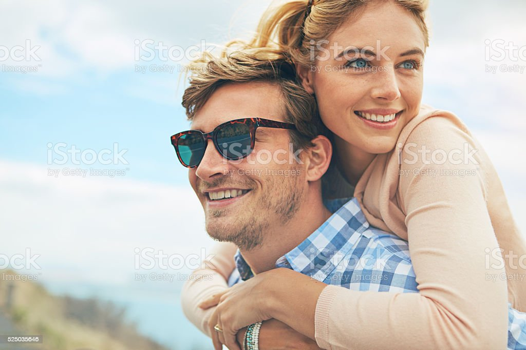 Where there is love there is life stock photo