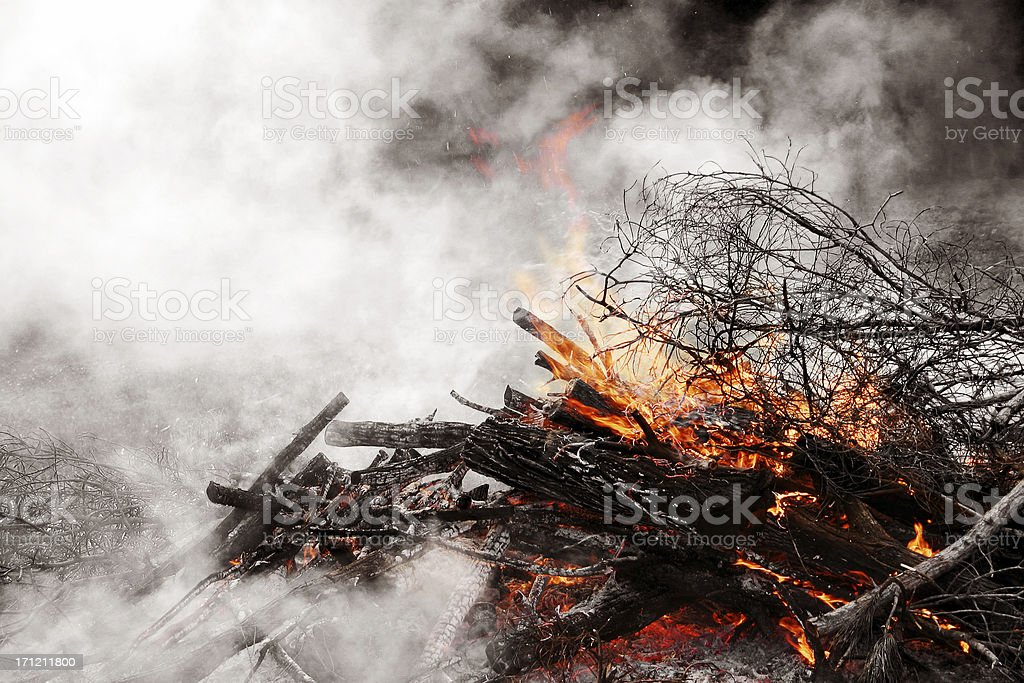 Where there's Smoke royalty-free stock photo