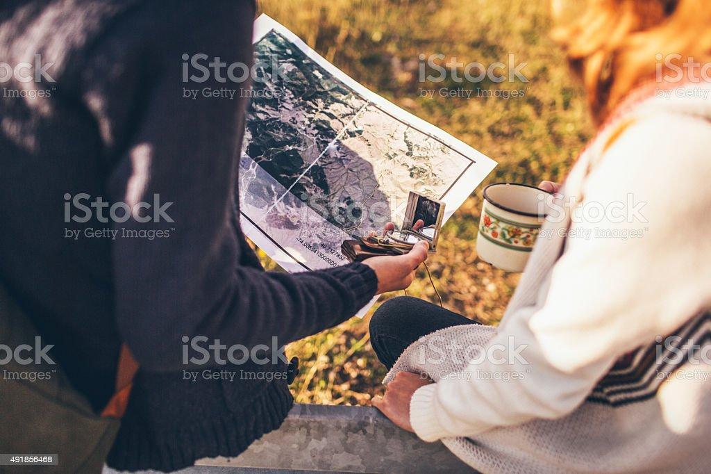 Where to next? stock photo