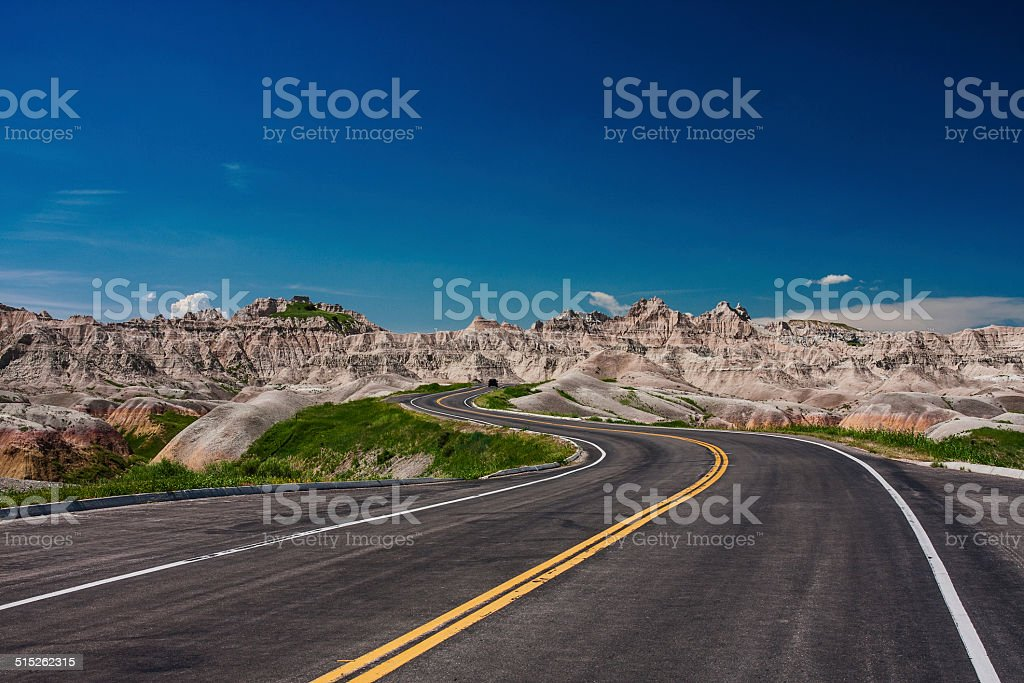 Where will the road take you stock photo