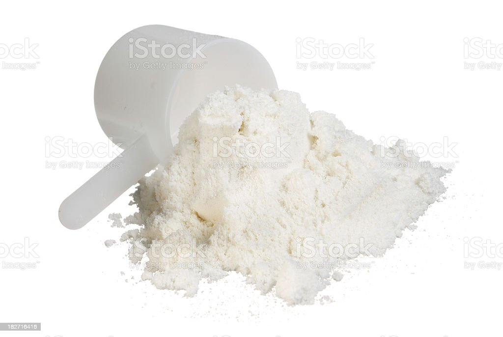 whey protein concentrate stock photo