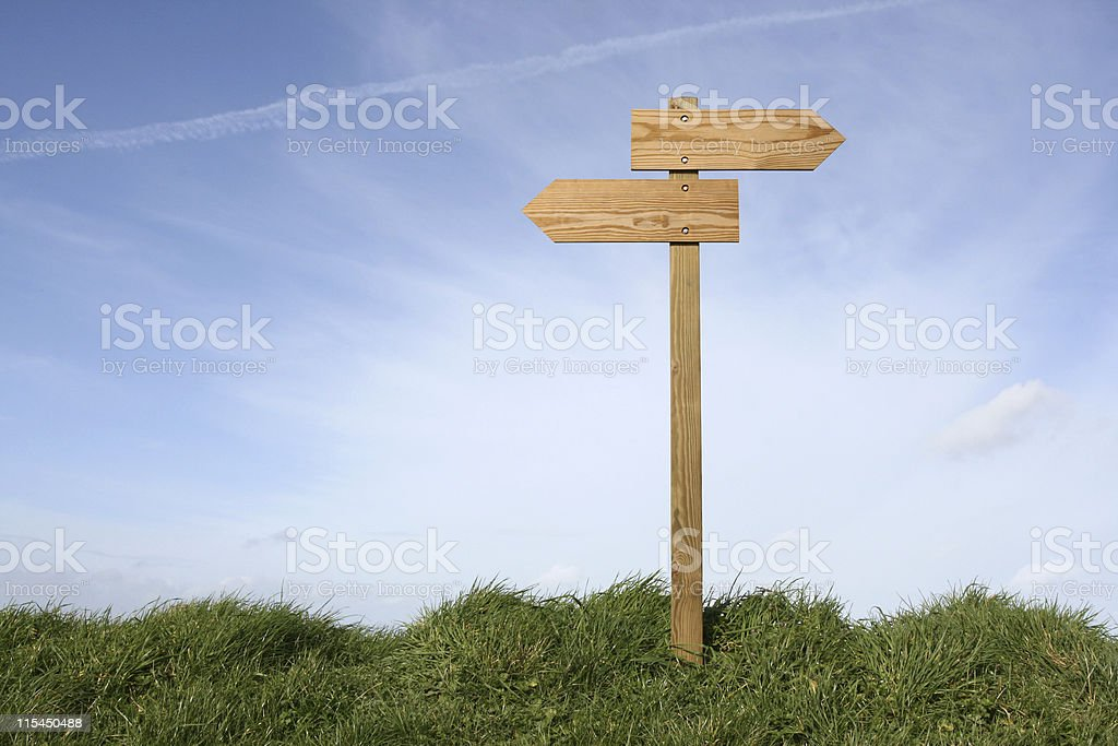 Which direction ? royalty-free stock photo