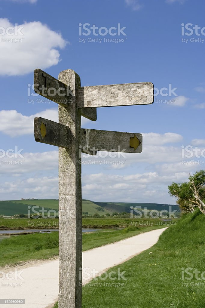 Which direction? stock photo