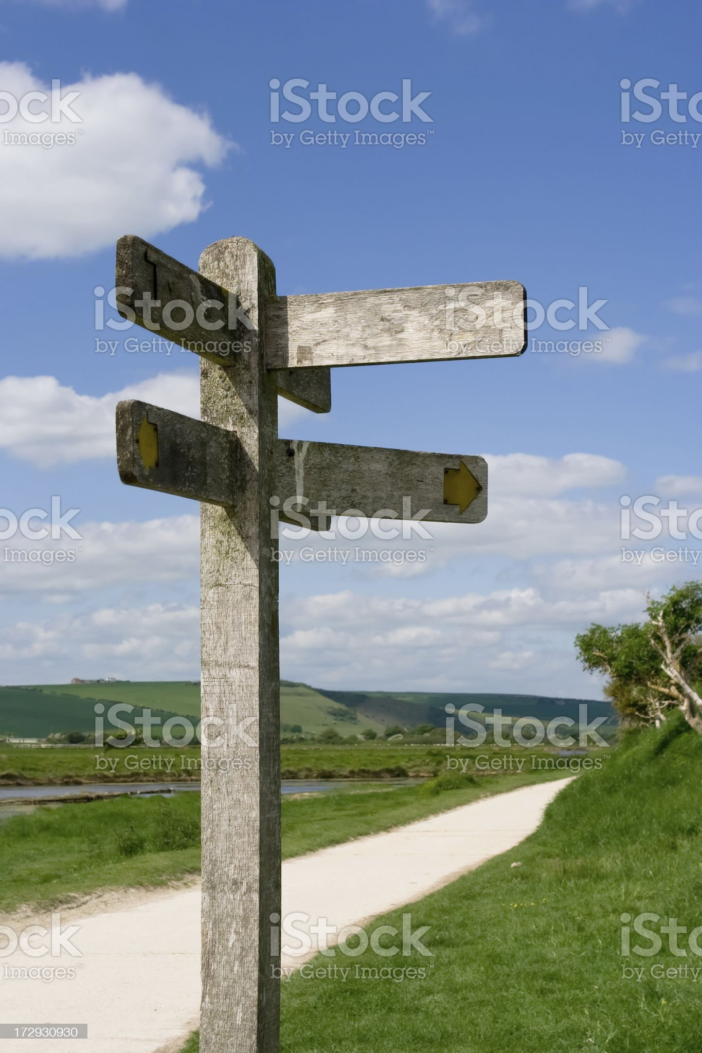 Which direction? royalty-free stock photo