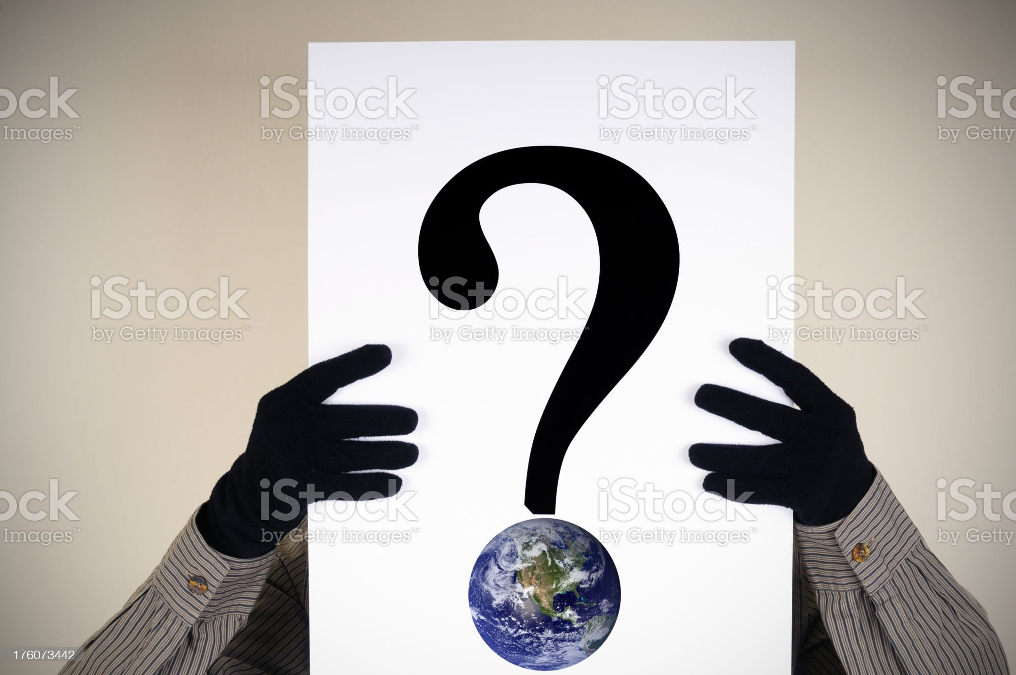 Which future for the earth? royalty-free stock photo