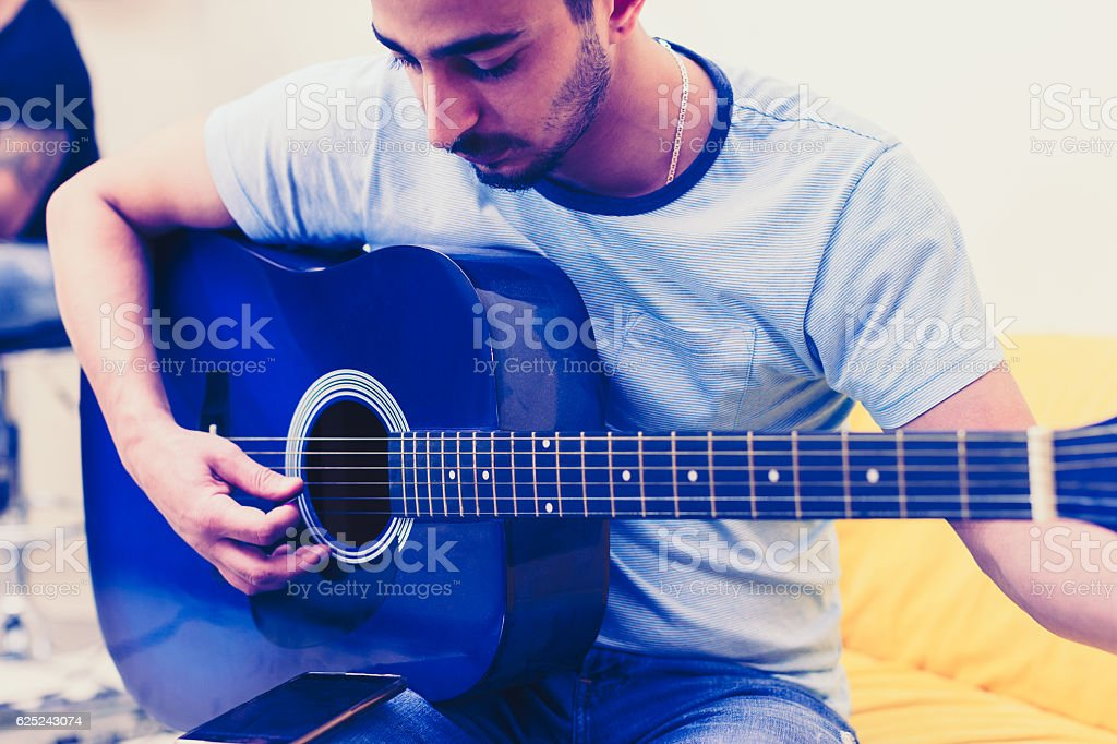 Which is F sharp again? stock photo