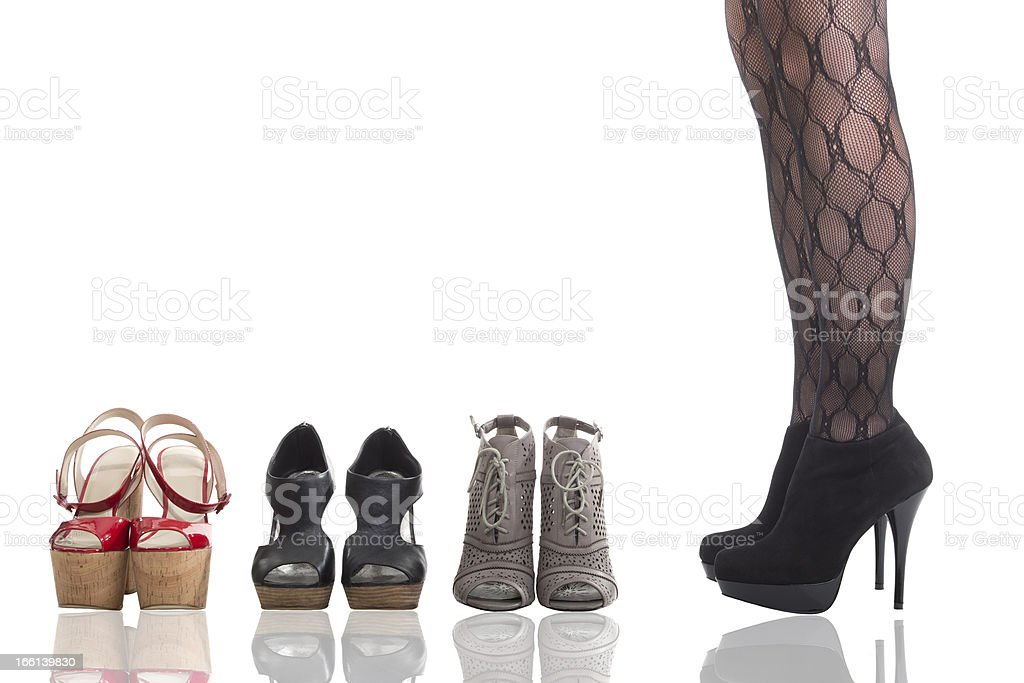 Which Shoe royalty-free stock photo