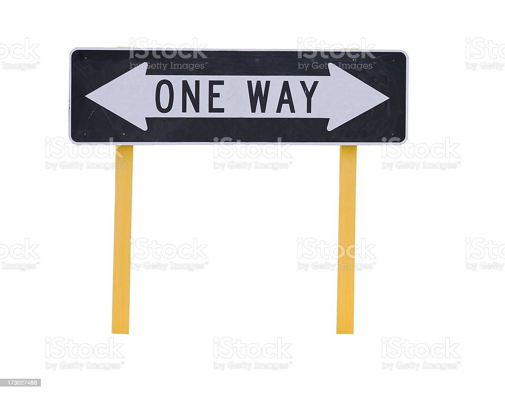 Which Way?? royalty-free stock photo