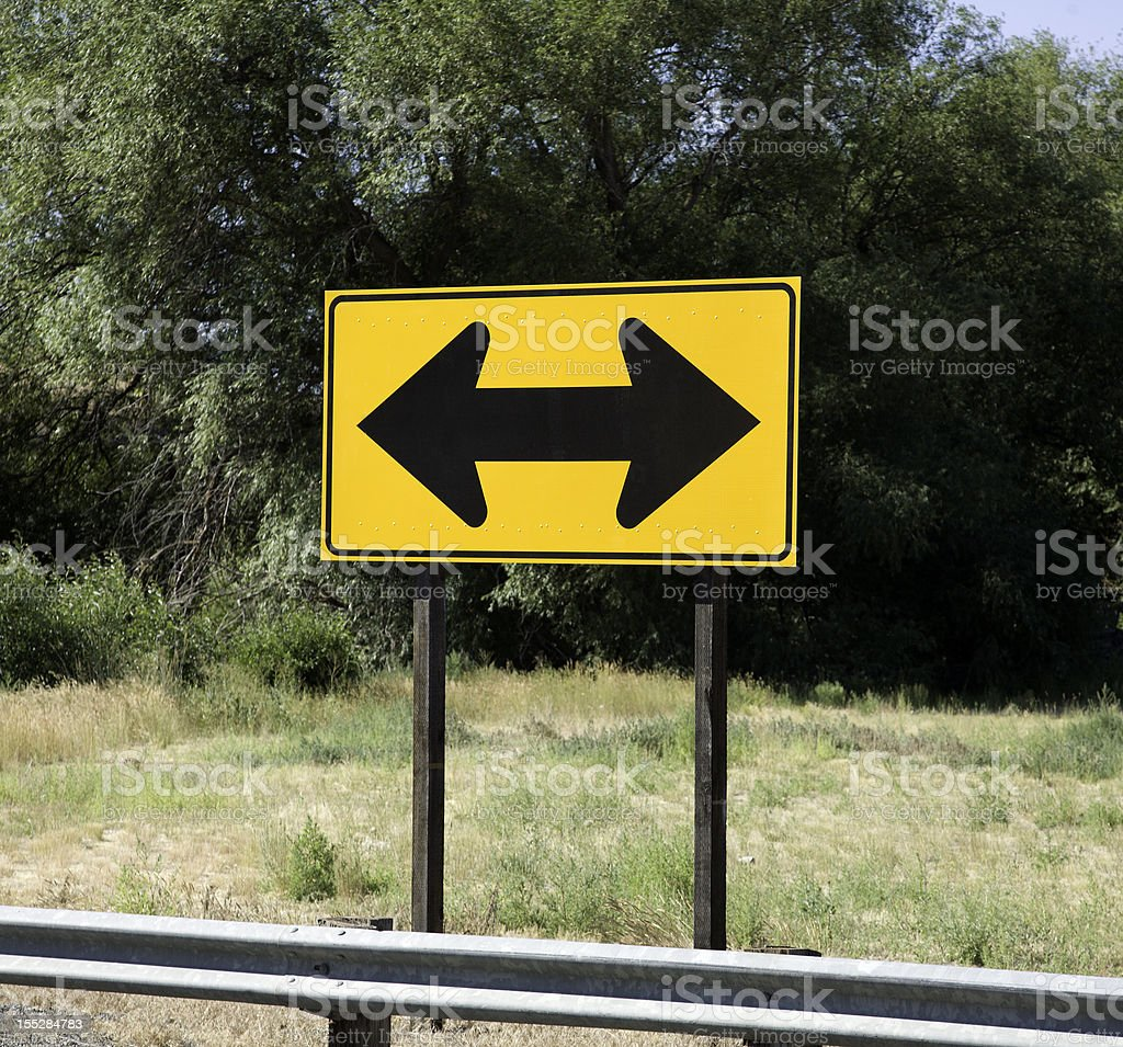 Which Way To Turn stock photo