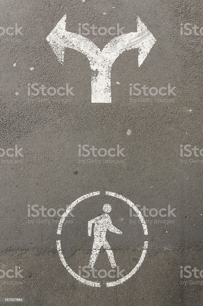 Which Way to Turn? royalty-free stock photo