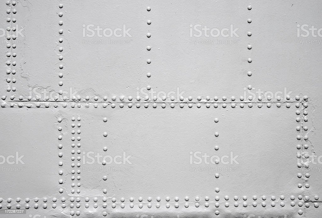 whiet rivets royalty-free stock photo