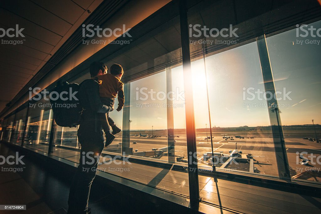 While waiting... stock photo