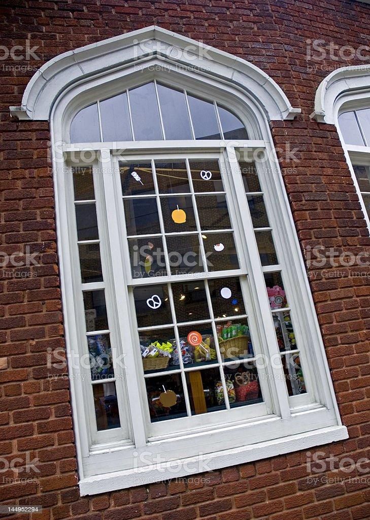 Whimzy Window royalty-free stock photo