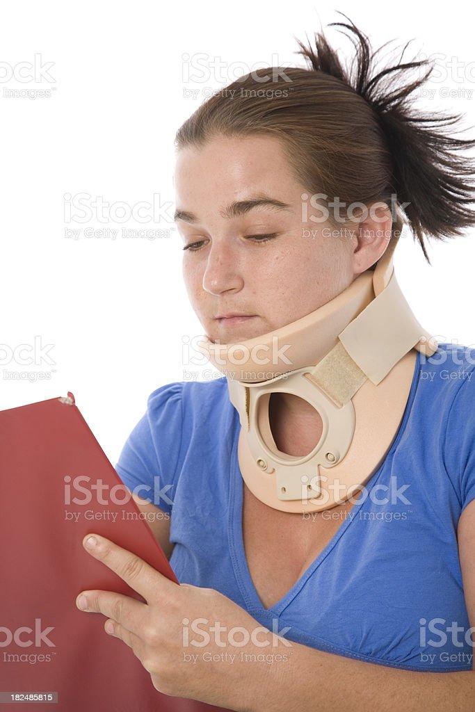 Whiplash Neck Injury stock photo