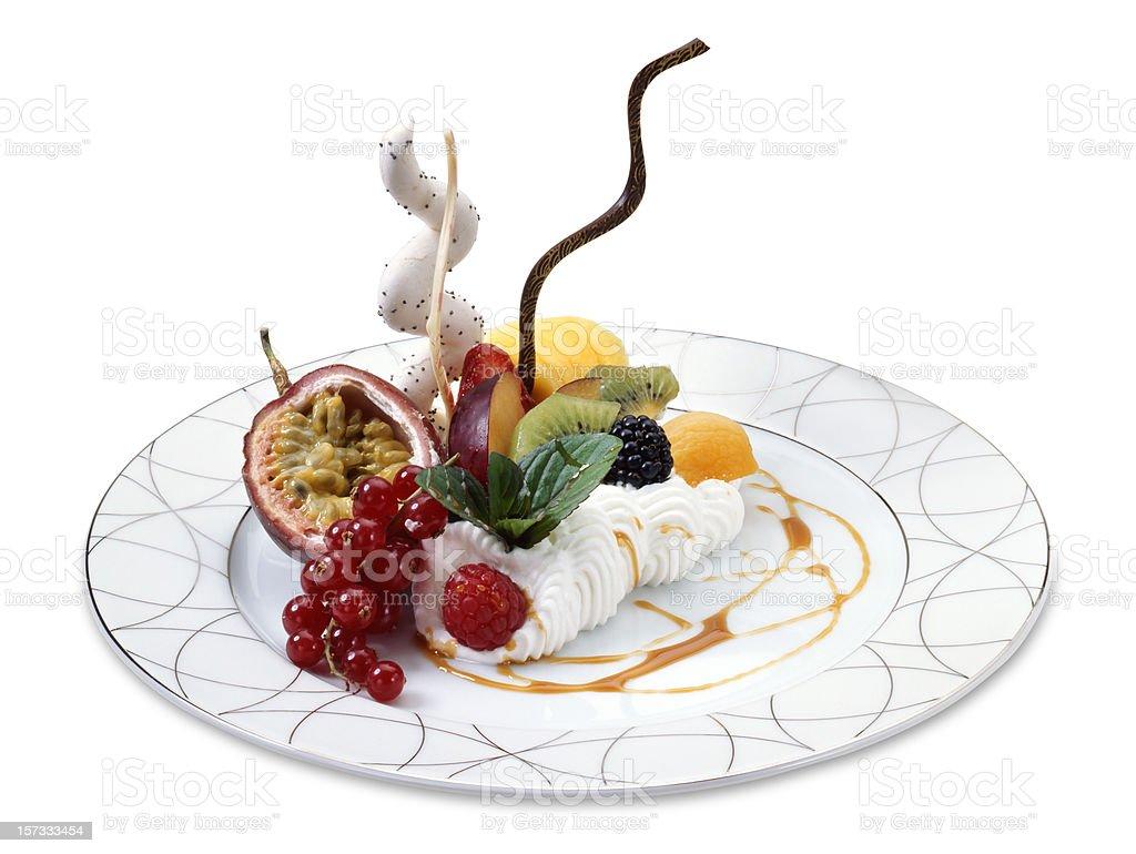 Whipped cream royalty-free stock photo