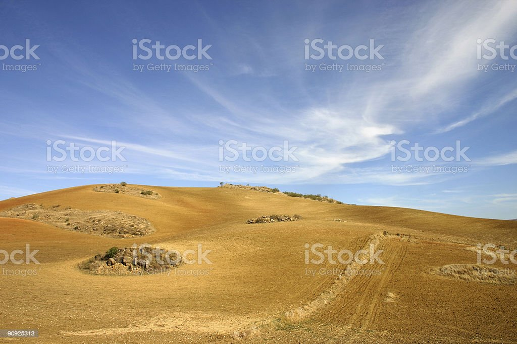 Whirling heaven and earth royalty-free stock photo