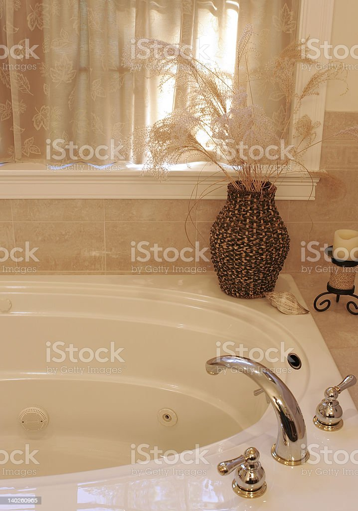 whirlpool bathtub royalty-free stock photo