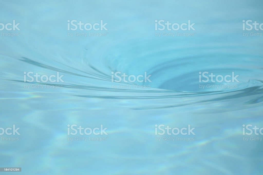 Whirlpool in swimming pool royalty-free stock photo