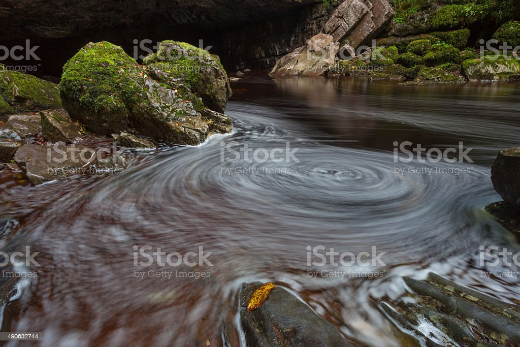 Whirlpool swirl stock photo
