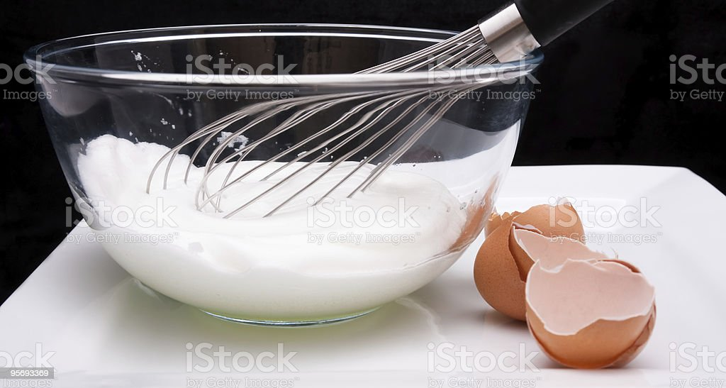 Whisk and Whites royalty-free stock photo