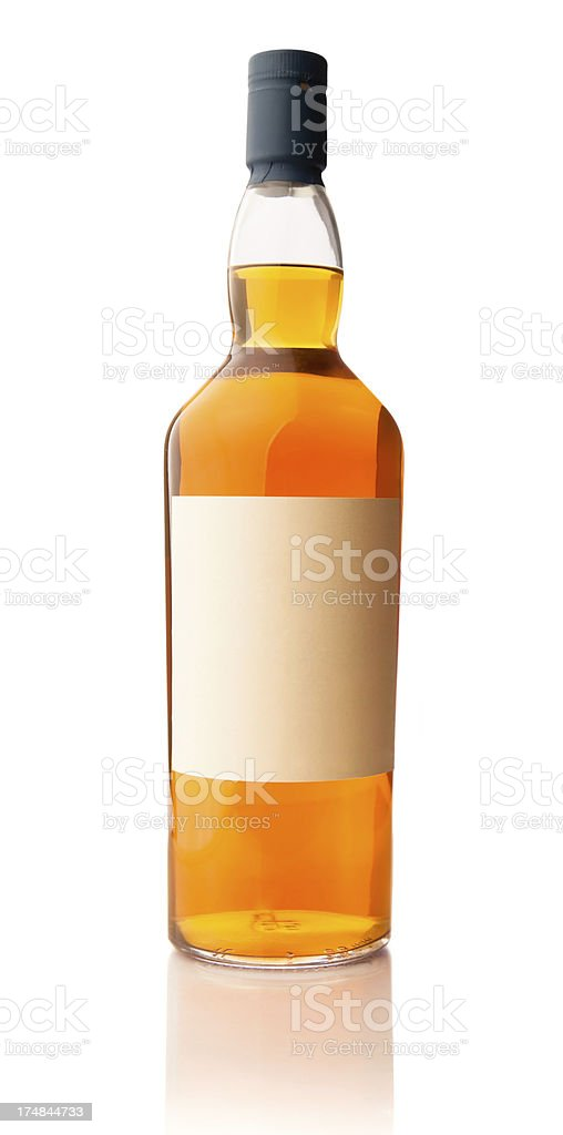 Whiskey Bottle XXXL stock photo